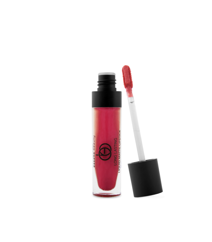 Flüssiger matter Lippenstift 07 - wild red - Essens Beauty - 5.50 g
