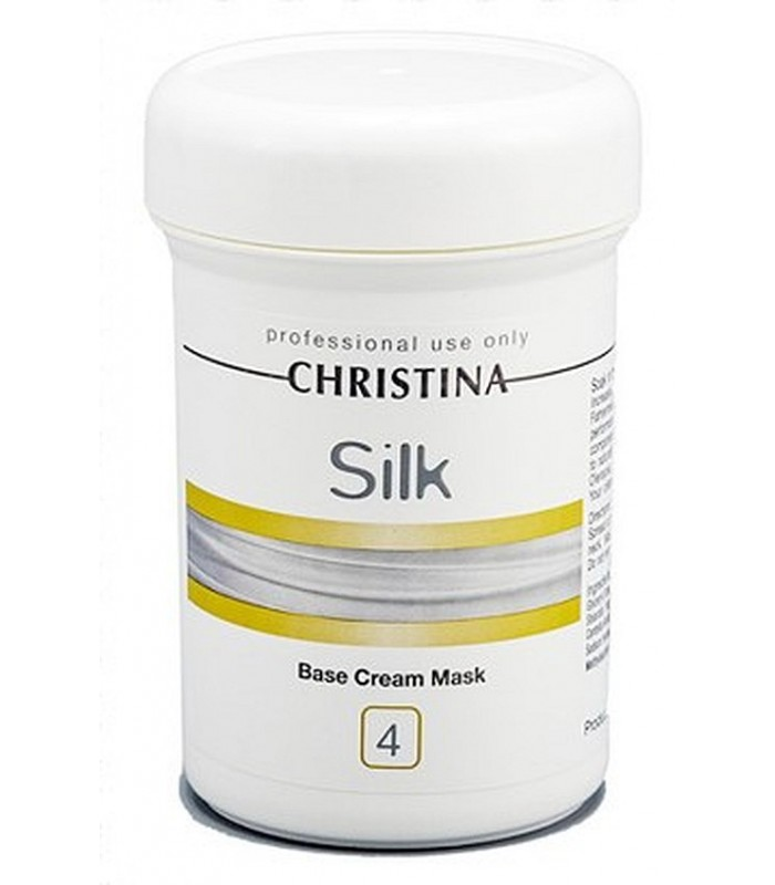 Base Cream Mask - Step 4 - Silk - Christina - 250 ml