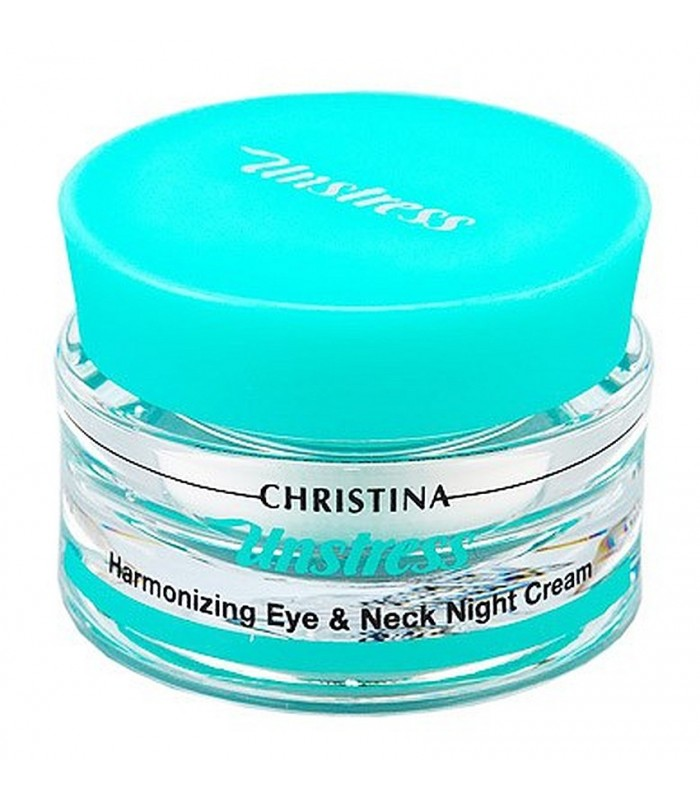 Harmonizing Eye&Neck Night Cream - Unstress - Christina - 30 ml