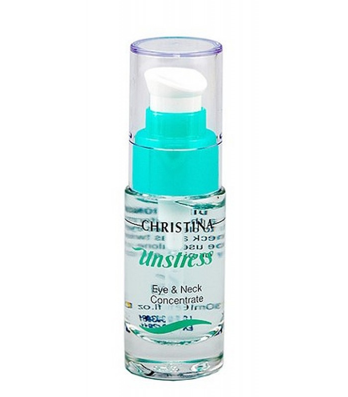 Eye&Neck Concentrate - Serie Unstress - Christina - 30 ml