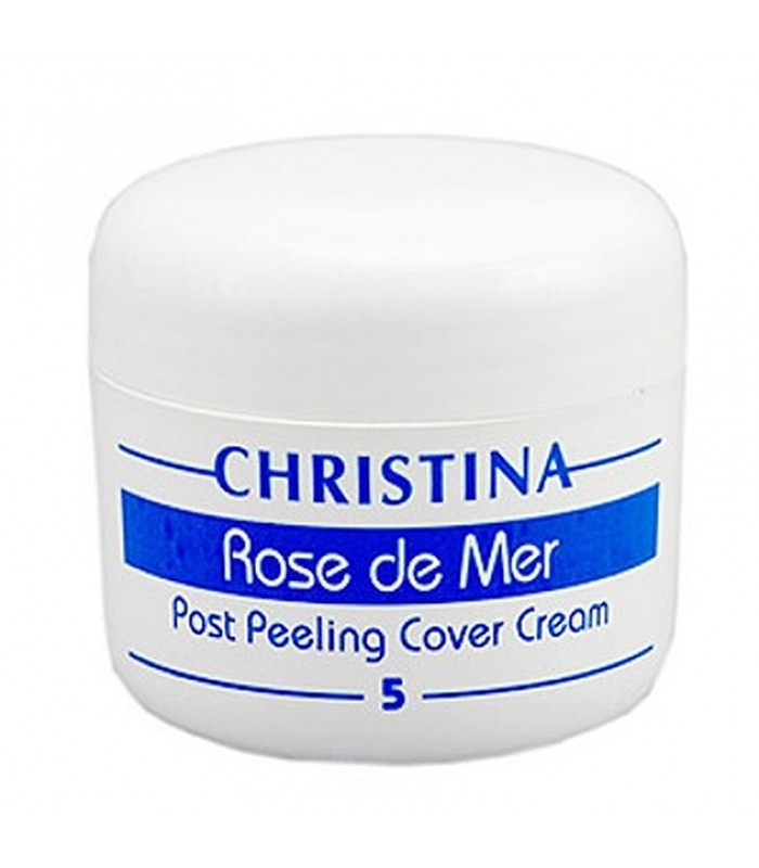 Post Peeling Cover Cream - Step 5 - Rose De Mer - Christina - 20 ml