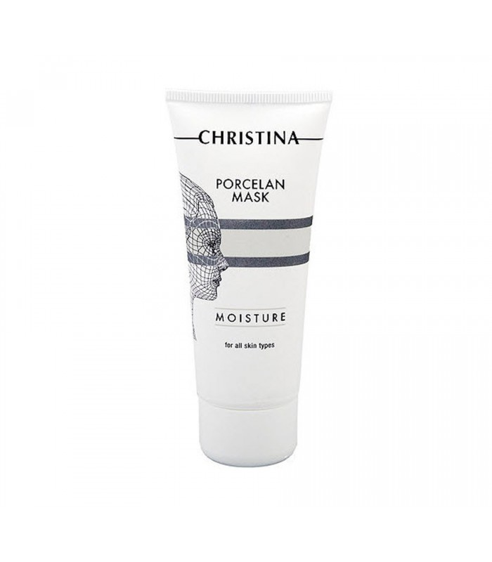 Porcelan Moisture Mask - Serie Mask - all skin types - Christina - 60 ml