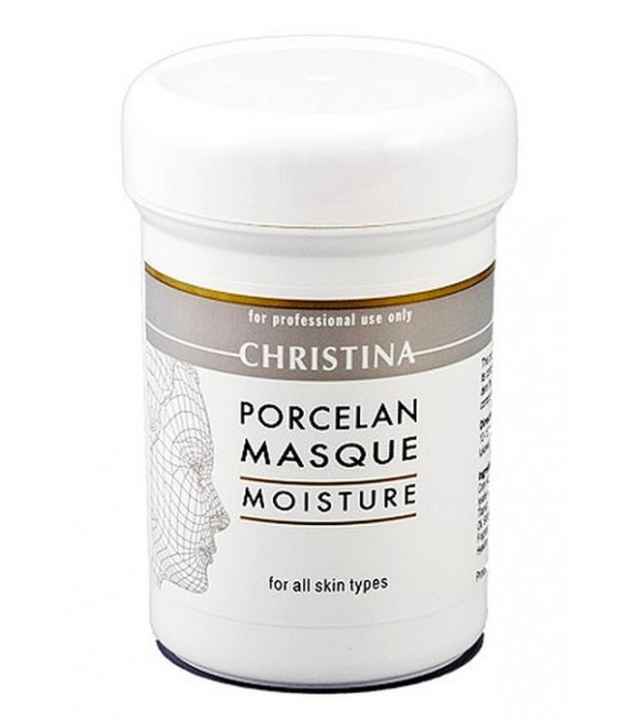 Porcelan Moisture Mask - Serie Mask - all skin types - Christina - 250 ml