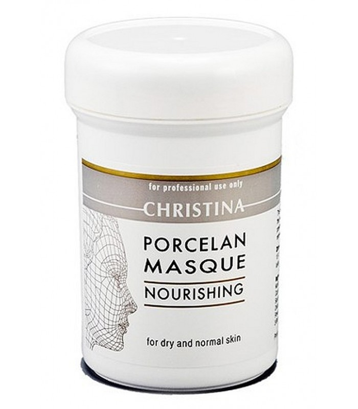 Porcelan Nourishing Mask - Masks - for dry&normal skin - Christina - 250 ml