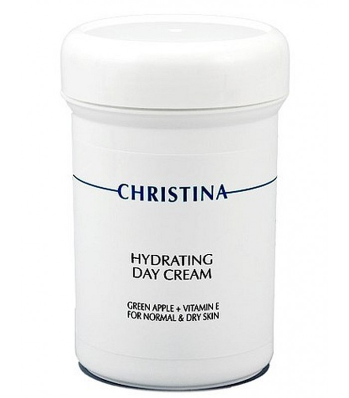 Hydrating Day Cream - Green Apple - Vitamin E - Moisture - Christina - 250 ml